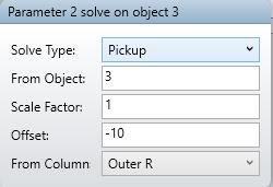 Parameter 2 solve on object 3