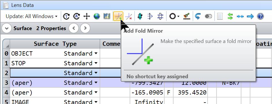 add fold mirror