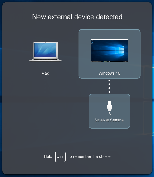 New External Device Detected