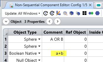 Boolean object