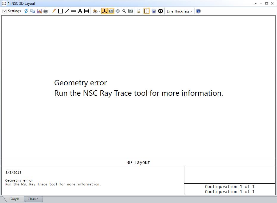 Geometry error