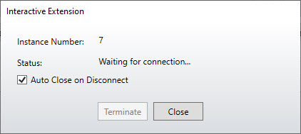 Waiting for Connection