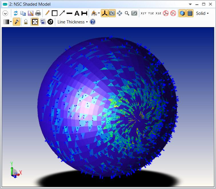 nsc shaded model