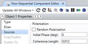 non sequential component editor