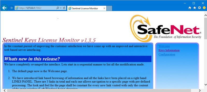 license monitor