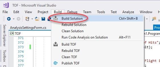 Build Solution