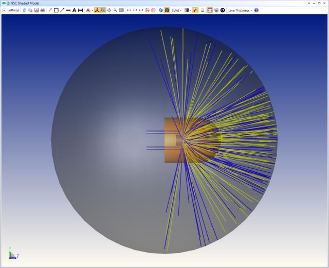 #image of modeled LED 1